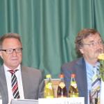 CSA Spitzenkandidat Reiner Meier und CSA Landesvorsitzender MdL Joachim Unterländer