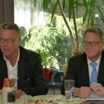 Bürgermeister Franz Stahl mit MdB Reiner Meier