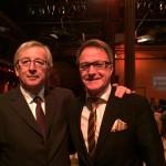 Foto: Reiner Meier mit dem früherem luxemburgischen Premierminister, Jean-Claude Juncker.