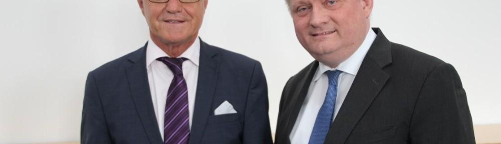 MdB Reiner Meier mit Bundesminister Gröhe